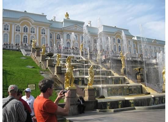 Grand Cascade Peterhof Russia