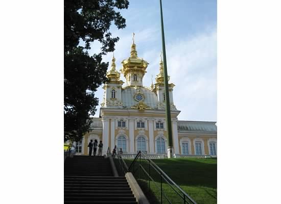 Peterhof Chapel Russia