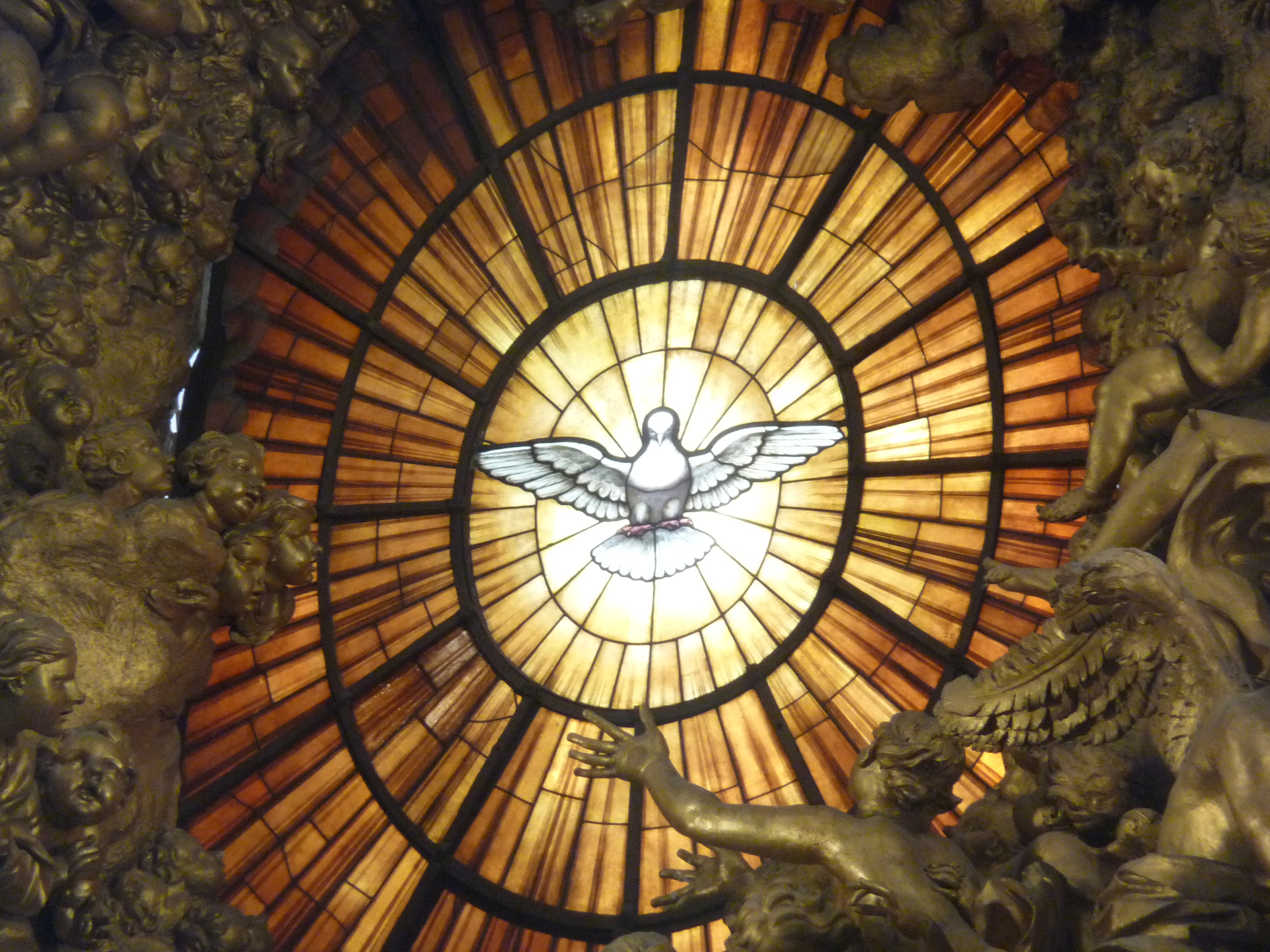 St Peters Holy Spirit Window