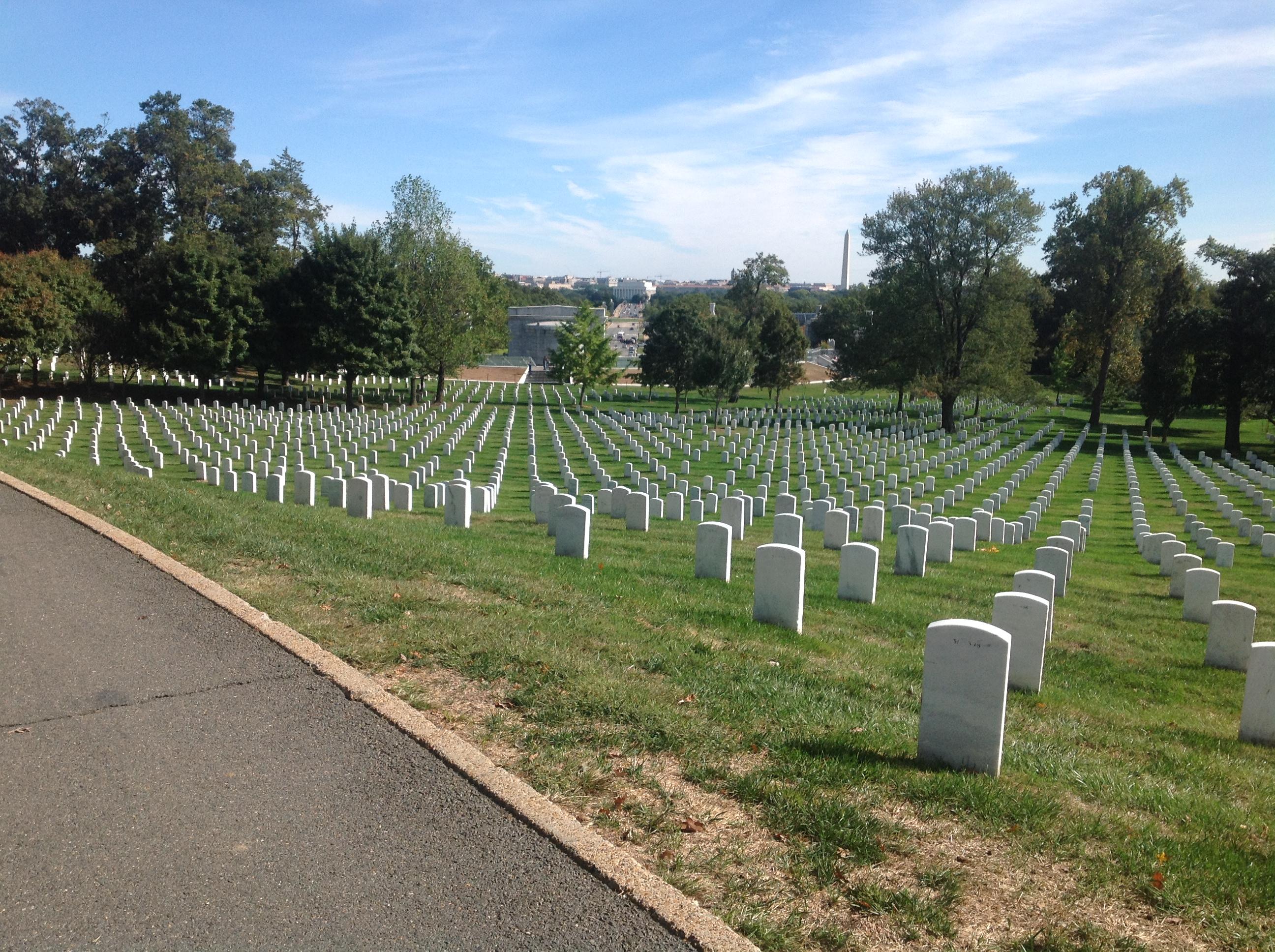 Fr Bob Arlington Cemetery 1