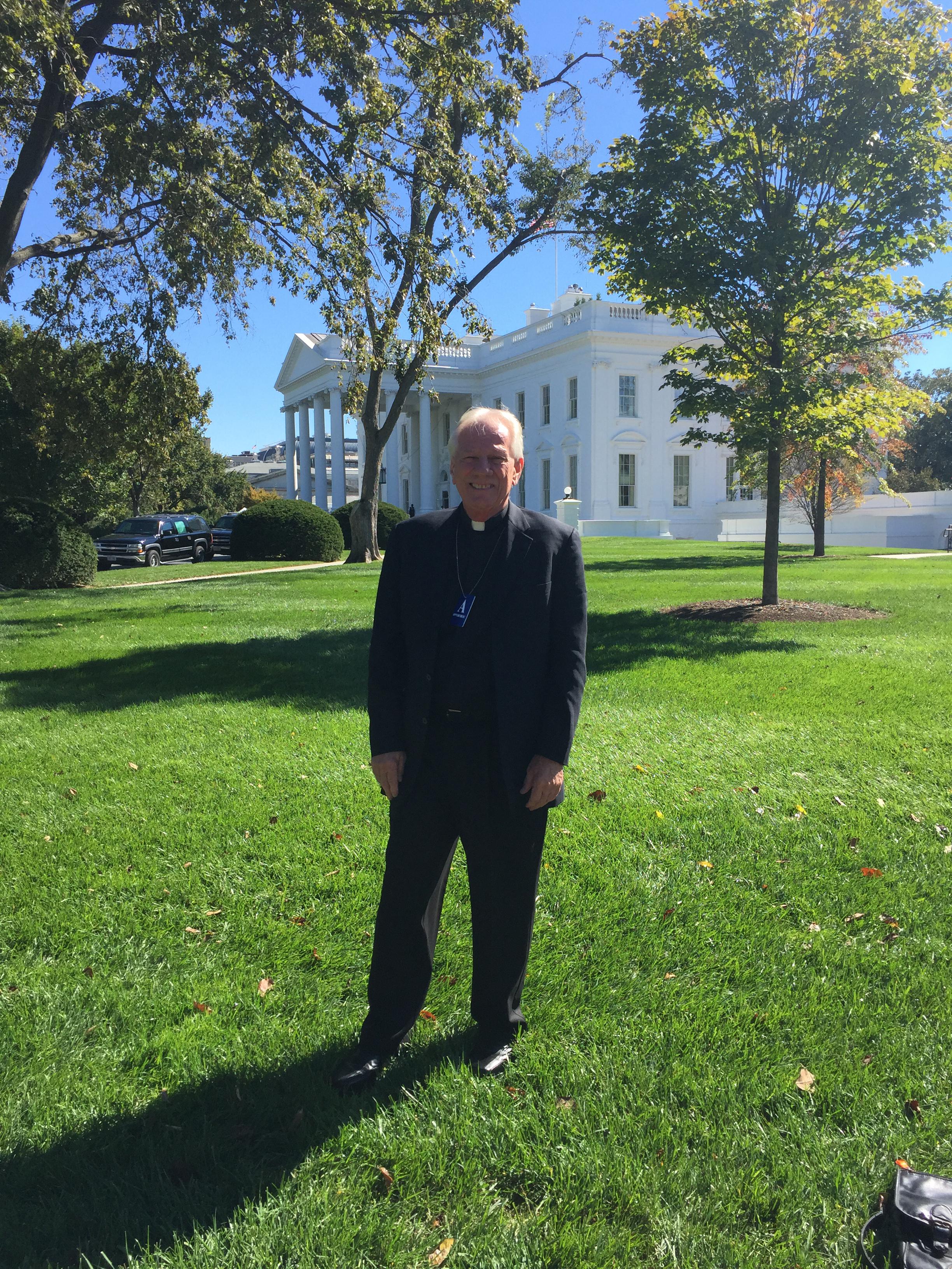 Fr Bob at White House