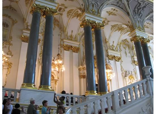 Hermitage Grand Staircase St Pete Russia
