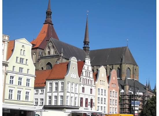 St Mary's in Rostock Germany
